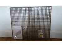 Fire Guard unused - extendable and folds flat for storage