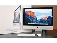 "Apple iMac 21.5"" Slim Aluminium with warranty FinalCutProX/Motion/Compressor/LogicX i5@ 2.7 8Gb 1TB"