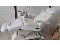 Electric beauty therapist salon chair