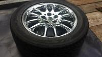 """Chrysler 300m factory 17"""" rims and 225/55/r17 Goodyear tires"""