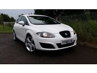 CANDY WHITE SEAT LEON TSI ONLY 54000 MILES FINANCE THIS CAR FROM ONLY £38 PER WEEK