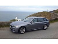 Bmw 520d estate.