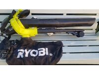 RYOBI LEAF BLOWER AND VACUUM 3000 WATTS