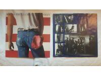 Bruce Springsteen Born In The U.S.A. - UK vinyl LP album (LP record)
