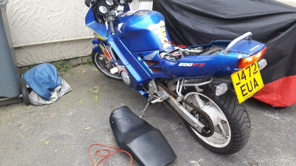 Cbr 600 f2 breaking for parts