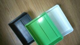 3 Photo Bath (Chemical ) Trays - 25 x 19cms