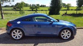 2006 (56) AUDI TT 2.0 T Turbo FSI 6-sp Auto S-Tronic (DSG) Blue - FSH, 1 Year MOT!