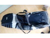Black Bag boy golf carrier