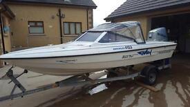 Fletcher bravo speed boat