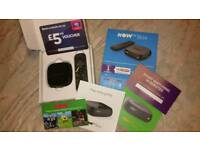 Nowtv boxes for sale. New with all extras in pictures.
