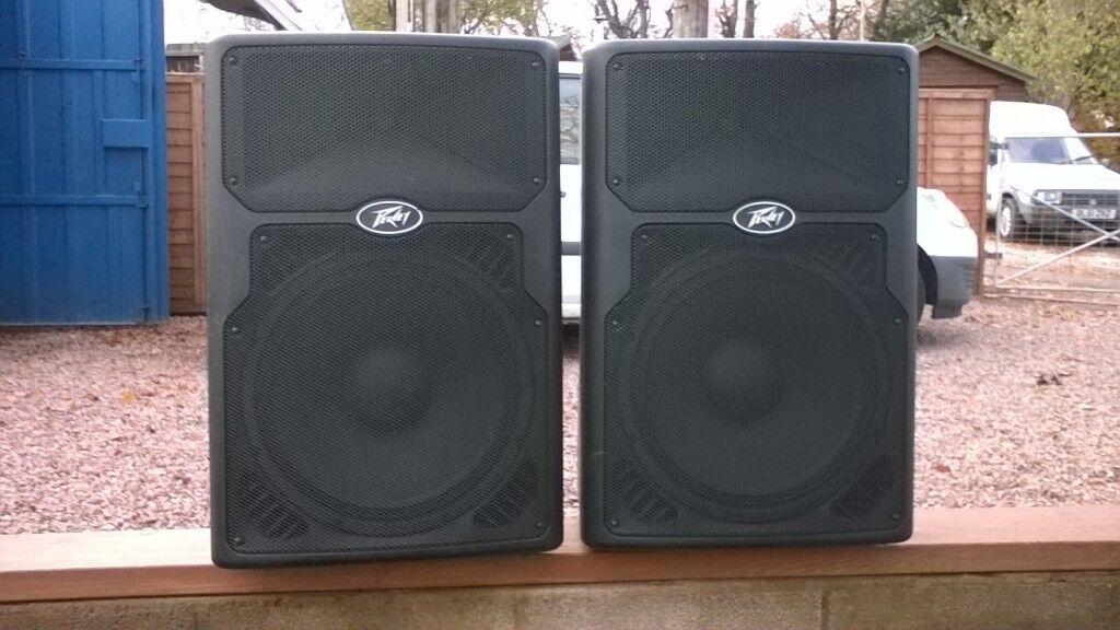 Peavey PVX 15's (Pair of passive speakers)