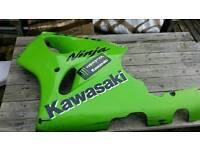 Kawasaki zx7r p1-p2 96-03 left side body panel/fairing