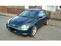 2001 Honda Civic 1.6 Vtec mk7 4/5 door hatchback BREAKING FOR PARTS SPARES