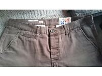 Next 34R brown smart jeans/chinos