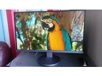 AOC 24 inch full HD computer monitor. Built-in speakers. Excellent condition. HDMI and Display Port.