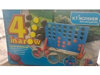 Garden Games Giant Connect 4, Boules, Croquet (bulk buy or will sell separately)