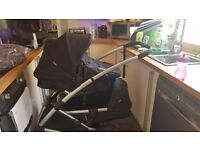 Phil&Ted's promanade double pram