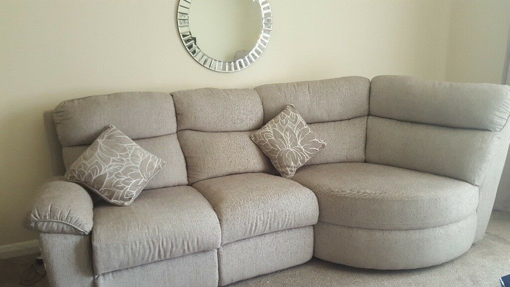 Corner Sofa Amp Matching Chair Reduced For Quick Sale In