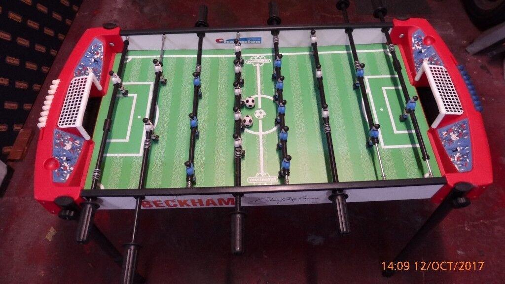 David Beckham Table football game