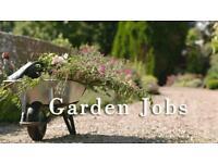 Gardening private gardens x2 days a week