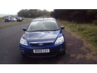 FOR SALE , FORD FOCUS. This car is being offered for sale at a reduced price due to time waster.