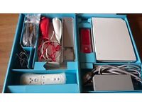 Nintendo Wii Console and Bundle 2 Controllers plus 2 games