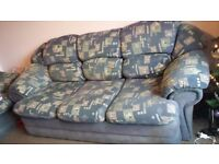 Sofa and armchair for free