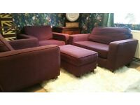 Set of armchairs by Sofa Workshop ( Loveseat, Snuggle chairs )