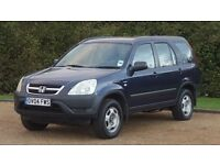 HONDA CRV 2.0 SE 04PLATE 2004 MANUAL 1P/OWNER 124000 MILES SERVICE HISTORY PART LEATHER AIRCON
