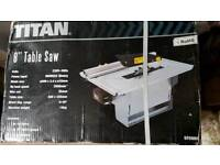 "TITAN 8"" TABLE SAW"