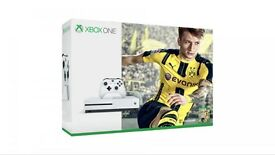 XBOX one s white with FIFA brand new