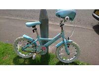 """Apollo sparkle kids bike 16"""" wheels"""