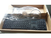 Brand new DELL keyboard + mouse