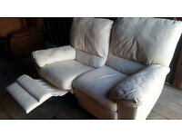 FREE DELIVERY 2 Seater Reclainer Couch sofa