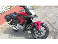 Honda Nc 700x touring/commuting , well looked after many extras viewing recomended