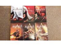 Assassins creed graphic novels comics set of six
