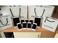 Genuine Pandora bags and boxes