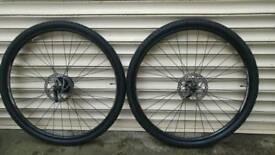 "28"" discbrake wheelset"