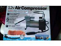 Air Compressor 12 Volt HIGH QUALITY METAL BODY