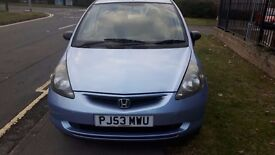 This used Honda Jazz 5 door has a 1.3 Petrol engine