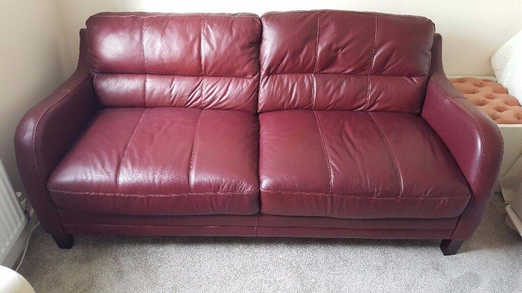 Sofa like new. 3 Seater Leather Sofa