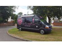 Mobile Desserts Van, Catering Van, Mobile Kitchen, Ice cream Van