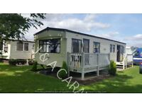 8 berth 3 bedroom to hire/rent located on Waterside Leisure Park Ingoldmells