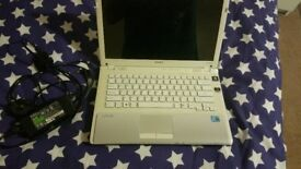 sony vaio laptop in good condition i3 core processor brand new battery