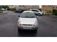 Silver Ford KA 55 plate for sale
