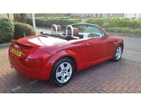 2001 AUDI TT CONVERTIBLE 1.8 180 BHP QUATTRO HIGHLY MAINTAINED LOVELY EXAMPLE IN GREAT CONDITION
