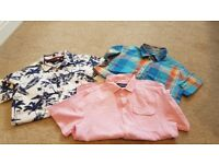 3 x boys shirts