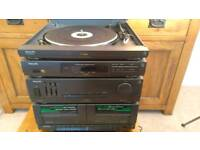 Philips FP-9410 HiFi Stereo System - Record Player, Radio, Cassette Player, Equaliser