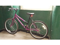 18-speed mountain bike