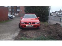 SEAT LEON!! Perfect Condition, MOT, Insurance, service hisfory, new tyres